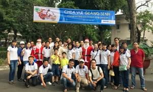 BAOVIET Bank TP. Hồ Chí Minh tặng quà cho bệnh nhi Bệnh viện Nhi đồng 2