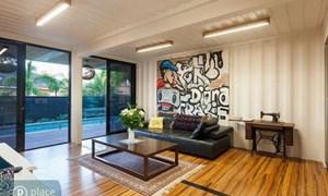 Phong cách Graffiti tạo sự sống động cho ngôi nhà
