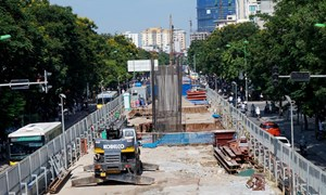Thêm 69 triệu Euro cho tuyến đường sắt Nhổn-Ga Hà Nội