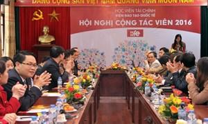 Viện Đào tạo Quốc tế tổ chức Hội nghị Cộng tác viên năm 2015