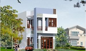 Xây dựng nhà đẹp trên mảnh đất méo