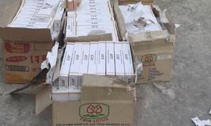 Khởi tố hình sự vụ án buôn lậu 2.000 bao thuốc lá điếu