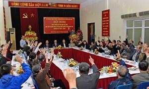 100% cử tri nơi cư trú nhất trí giới thiệu ông Đinh Tiến Dũng ứng cử đại biểu Quốc hội khóa XIV