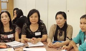 Tập huấn cho 45 nữ ứng viên lần đầu ứng cử đại biểu Quốc hội và HĐND các tỉnh miền Tây Nam Bộ