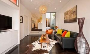 Những ý tưởng thiết kế phòng khách dài hẹp