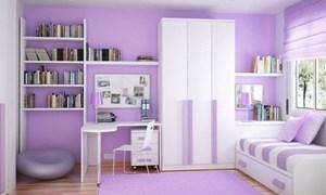 Phòng khách duyên dáng với gam màu pastel