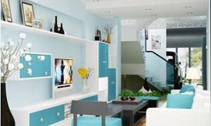Cách lựa chọn và phối màu sơn cho ngôi nhà
