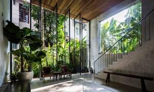 Thiết kế nhà đẹp, giao hoà với thiên nhiên
