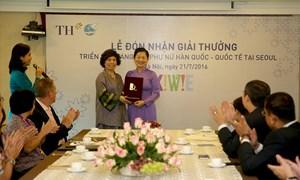 Tập đoàn TH nhận Giải thưởng sáng tạo tại Triển lãm sáng tạo Phụ nữ Hàn Quốc - Quốc tế