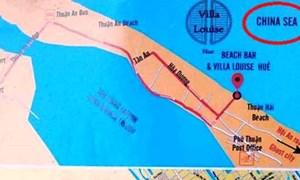 Kiểm tra, thu giữ nhiều bản đồ ghi sai tên biển của Việt Nam