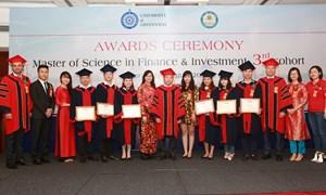 Học viện Tài chính trao bằng tốt nghiệp Khóa 3 chương trình Thạc sỹ Tài chính và Đầu tư