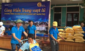 Bảo Việt ủng hộ hơn 1 tỷ đồng ủng hộ đồng bào miền Trung