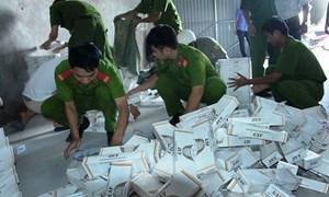 Làm rõ, xử lý nghiêm vụ buôn lậu thuốc lá tại tỉnh Long An