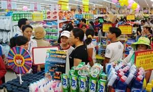 Tổng mức bán lẻ hàng hóa và doanh thu dịch vụ tiêu dùng quý I/2017 tăng 9,2%