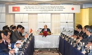 Thủ tướng Nguyễn Xuân Phúc dự tọa đàm với doanh nghiệp, tổ chức kinh tế vùng Kansai