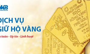 MB cung cấp dịch vụ Giữ hộ vàng