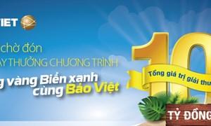 """11.000 khách hàng được tri ân trong chương trình """"Nắng vàng biển xanh cùng Bảo Việt"""""""
