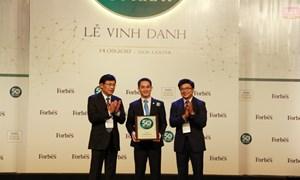 Bảo Việt tiếp tục dẫn đầu lĩnh vực bảo hiểm 5 năm liên tiếp trong Forbes 50