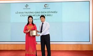 15 triệu cổ phiếu Thép Mê Lin niêm yết trên HNX