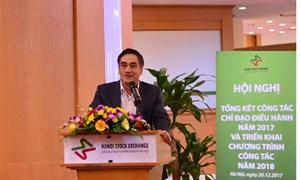 HNX tổ chức Hội nghị tổng kết công tác chỉ đạo điều hành năm 2017