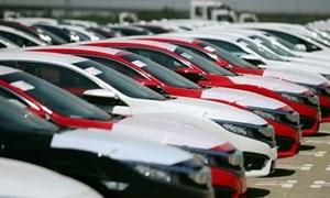 Ô tô nguyên chiếc nhập khẩu giảm mạnh, xe sang Đức vượt mặt xe nhập Thái Lan