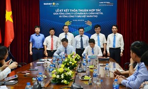 Bảo Việt Nhân thọ ký kết thỏa thuận hợp tác với Bưu chính ViettelV
