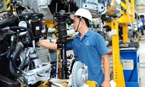 Linh kiện và phụ tùng ô tô các loại được nhập về Việt Nam giảm