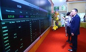 Tháng 8, giá trị giao dịch của nhà đầu tư ngoại tăng, đạt gần 836 tỷ đồng