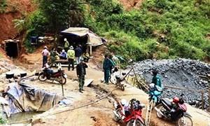 Xử lý nghiêm các hành vi khai thác khoáng sản gây ô nhiễm môi trường nghiêm trọng