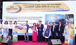 """Bảo Việt trao xe Mercedes-Benz C200 cho khách hàng tham gia chương trình """"Mùa hè sôi động"""""""