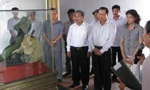 Khánh thành Khu hành lễ Nghĩa trang Liệt sỹ quốc gia Đường 9