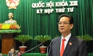 Thủ tướng Nguyễn Tấn Dũng trả lời chất vấn: Làm gì đề giúp DN vượt khó