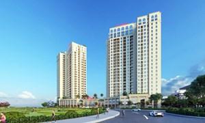 VCI Tower cất nóc đúng tiến độ, khẳng định đẳng cấp, uy tín và tiềm lực vững mạnh của chủ đầu tư