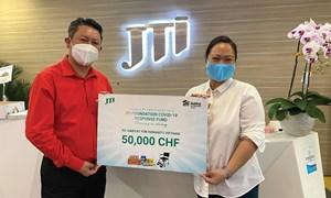 Quỹ JTI Foundation ủng hộ gần 1.2 tỷ đồng phòng chống dịch COVID-19 tại Việt Nam