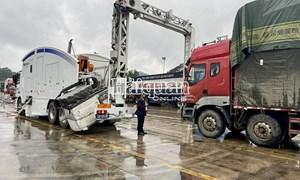 Hải quan Hữu Nghị tạo điều kiện cho phương tiện chở hàng xuất khẩu