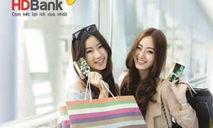 Quẹt thẻ trúng lớn tại HDBank