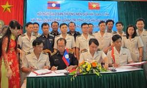Hải quan Hà Tĩnh, Quảng Bình, Quảng Trị tăng cường hợp tác với Hải quan Vùng III (Lào)