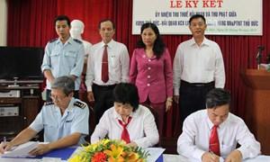 Phối hợp thu ngân sách tại Hải quan Khu chế xuất Linh Trung