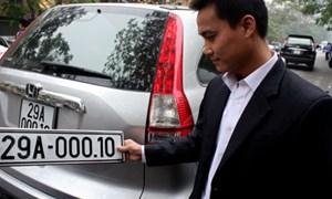 Sẽ nộp toàn bộ lệ phí cấp giấy đăng ký và biển số ô tô, xe máy vào ngân sách