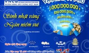 Ngân hàng Xây dựng Việt Nam – Sinh nhật vàng, ngàn niềm vui