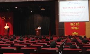 Hội nghị giới thiệu chính sách mới trong lĩnh vực hải quan được áp dụng từ 01/11/2013