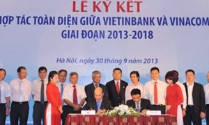 Vinacomin hợp tác toàn diện Vietinbank