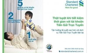 Standard Chartered Việt Nam đẩy mạnh ngân hàng trực tuyến