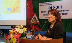 Nữ Cán bộ công chức Cục Hải quan TP. Đà Nẵng thực hiện tốt phong trào thi 2 giỏi