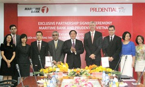 Prudential và Maritime Bank hợp tác Bancassurance độc quyền tại Việt Nam
