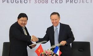 Ký kết hợp đồng chuyển giao công nghệ sản xuất, lắp ráp xe Peugeot 3008
