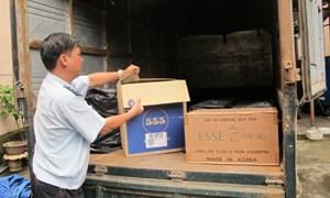 Hải quan Quảng Ninh bắt giữ 200 thùng thuốc lá điếu nhập lậu