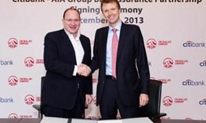 Citibank hợp tác với AIA cung cấp sản phẩm bảo hiểm nhân thọ