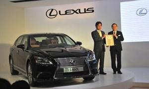 Chính thức vào Việt Nam, Lexus giới thiệu 5 mẫu xe