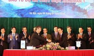 200 triệu USD xây dự án thủy điện Xekaman 1